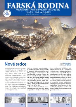 FR 2014/02 - Farnosť Spišská Nová Ves
