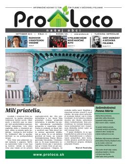 Noviny september 2012