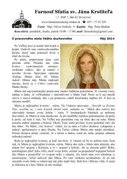 Farnosť Sťatia sv. Jána Krstiteľa