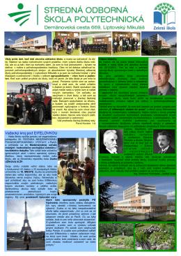 Buletin 2013 - Stredná odborná škola POLYTECHNICKÁ