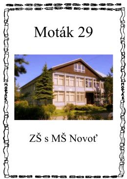 ZŠ s MŠ Novoť - Základná škola s materskou školou Novoť 315