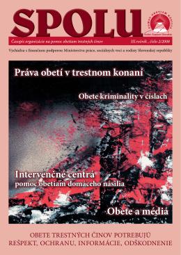 číslo 2/2008 - Pomoc obetiam násilia