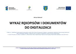 Deutschsprachige Titel in polnischer Übersetzung 2013