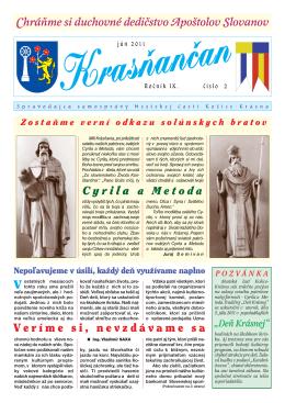 Krasňančan 2/2011 - Mestská časť Košice Krásna