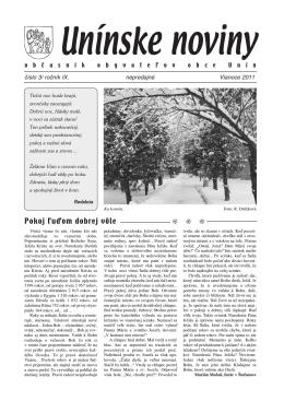 číslo 3 – Vianoce 2011