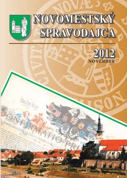 stiahnuť časopis - MsKS, Nové Mesto nad Váhom