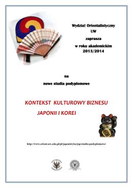 Japonia i Chiny - Wydział Orientalistyczny