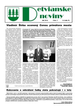 Detvianske noviny 07/2014