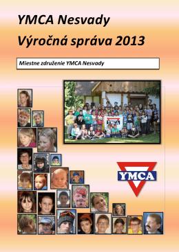 YMCA Nesvady Výročná správa 2013