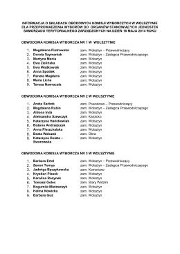ogłoszenie o wynikach ii etapu konkursu na stanowisko asystenta