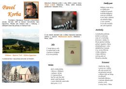 Pavol Korba - Verejná knižnica Mikuláša Kováča Banská Bystrica