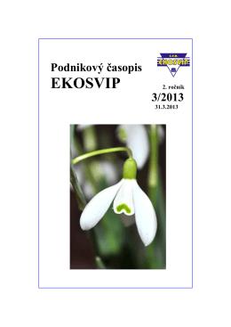 časopis 3/2013 - EKO SVIP, sro
