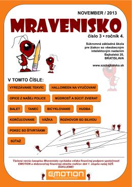 Mravenisko 13/14/03