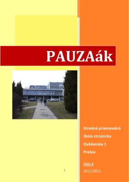 Stredná priemyselná škola strojnícka Duklianska 1 Prešov číslo 4
