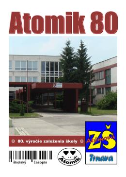 80. výročie založenia školy