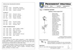 Priechodský spravodaj 8_2014_II