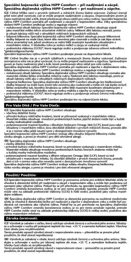Více informací na etiketě (PDF)
