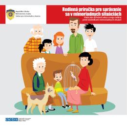 Rodinná príručka pre správanie sa v mimoriadnych situáciách