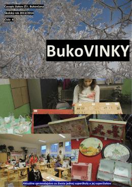 Časopis 4/2013 - Základná škola na Ulici Ivana Bukovčana 3