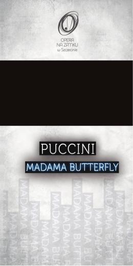 program Madama Butterfly - Opera na Zamku w Szczecin