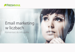 Email marketing w liczbach - komentarz