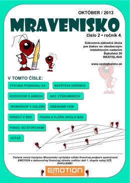 Mravenisko 13/14/02