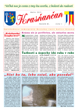 Krasňančan 0113 - Mestská časť Košice Krásna