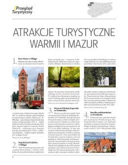 Pobierz atrakcje turystyczne Warmii i Mazur PDF