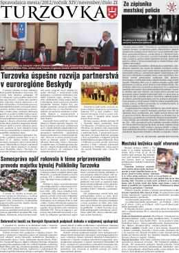 č. 21 - Mesto Turzovka