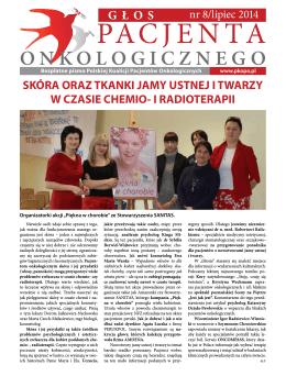 """""""Głos Pacjenta Onkologicznego"""" Nr 8"""