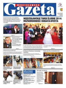 Pobierz: Gazeta Wodzislawska 03/2014