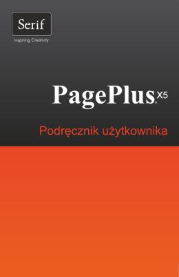 PagePlus X5 — podręcznik użytkownika