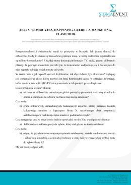 Pobierz ofertę - Imprezy marketingowe (PDF, 0.7MB)