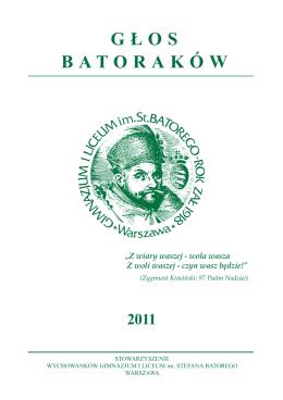 grudzień 2011 - Gimnazjum i Liceum im. Stefana Batorego