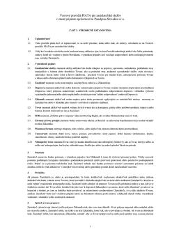 Vzorové pravidlá FIATA pre zasielateľské služby v znení
