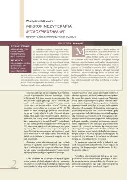 Kwartalnik Refleksoterapia Nr 3/2010