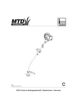 MTD Products Aktiengesellschaft √ SaarbrΩcken