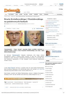 Bracia Kwiatkowskiego i Niesiołowskiego na