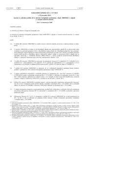 Príloha III k smernici 2008/98/ES z 18. decembra - NATUR