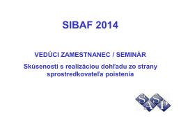 SIBAF 2014