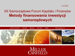 Buy-Sell Back - XII Samorządowe Forum Kapitału i Finansów