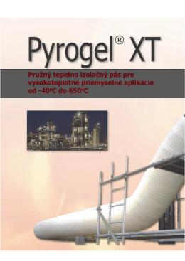 Pyrogel brožúre