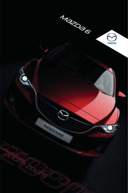 Stiahnuť brožúru modelu Mazda6