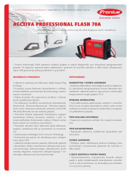 ACCTIVA PROFESSIONAL FLASH 70A