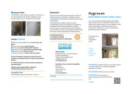 Hygrosan - AQUASTOP