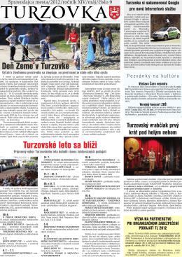 č. 9 - Mesto Turzovka