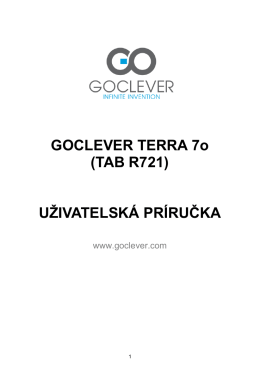 TAB R721 - goclever