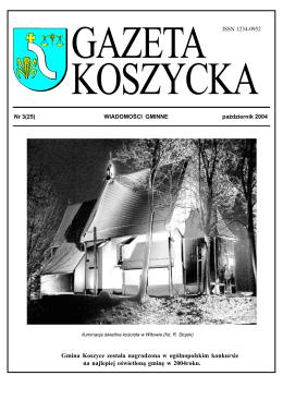 Gazeta Koszycka - pa.dziernik 2004