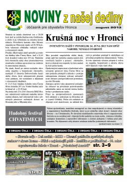 Noviny z našej dediny - august 2013.pdf