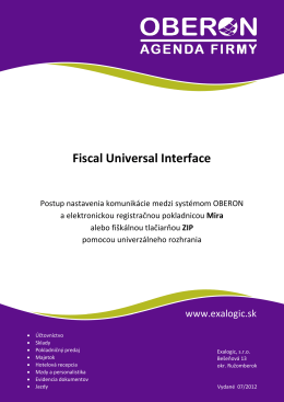 Fiscal Universal Interface